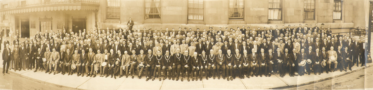 78th Annual Grand Lodge, Toronto, 1921